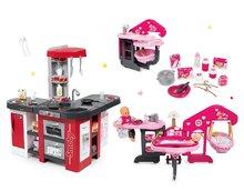 Set bucătărie Tefal Studio XXL Smoby cu bule magice şi căsuţă pentru păpuşă Baby Nurse Ediţie aurie