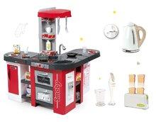 Set detská kuchynka Tefal Studio XXL Smoby s magickým bublaním a sada spotrebičov Tefal