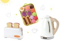 Spotrebiče do kuchynky - Set toaster Mini Tefal Smoby rýchlovarná kanvica Tefal a koláčiky na tácke_6