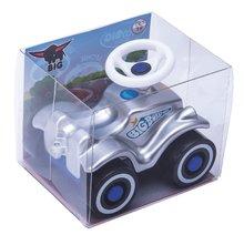 Odrážadlá sety - Set odrážadlo Bobby Classic Polícia BIG s klaksónom modré a naťahovacie autíčko Mini Bobby 12 mesiacov_6