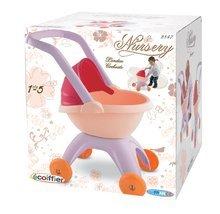 Kočárky pro panenky od 12 měsíců - Kočárek pro panenku Nursery Écoiffier hluboký oboustranný od 18 měsíců_9