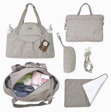Prebaľovacia taška Voyage 4v1 toTs-smarTrike s vnútornou taškou a termoobalom na fľašu béžová