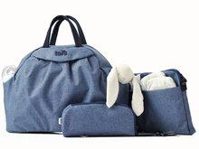 Prebaľovacia taška Chic 5v1 toTs-smarTrike s vnútornou taškou a termoobalom na fľašu modrá