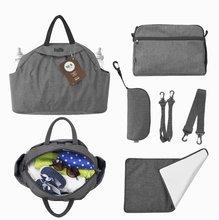Prebaľovacia taška Chic 5v1 toTs-smarTrike s vnútornou taškou a termoobalom na fľašu šedá
