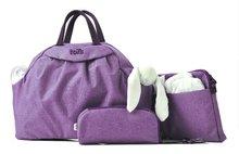 Přebalovací taška Chic 5v1 toTs-SmarTrike s vnitřní taškou a termoobalem na láhev fialová