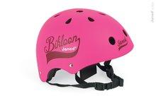 Janod 03268 detská cyklistická prilba s ventiláciou Bikloon Pink (veľkosť 47-54) od 3 rokov