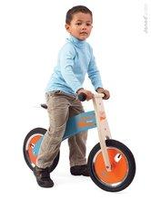 Drevené odrážadlá - Drevený balančný bicykel Bikloon Janod Blue&Orange od 3 rokov_1