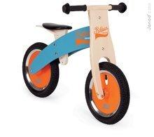 Drevené odrážadlá - Drevený balančný bicykel Bikloon Janod Blue&Orange od 3 rokov_0