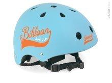Janod 03269 detská cyklistická prilba s ventiláciou Bikloon Blue (veľkosť 47-54) od 3 rokov