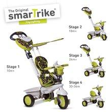 smarTrike 1590800 zeleno-šedá tříkolka Dream Team Green Touch Steering 4v1 od 10 měsíců