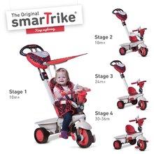 smarTrike 1590500 červeno-šedá tříkolka Dream Team Red Touch Steering 4v1 od 10 měsíců