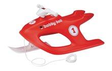 BIG 56920 červené sánky s kovovou sklznicou a tlmičom Bobby Bob od 4 rokov