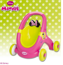 Staré položky - Chodítko a kočiarik pre bábiku 2v1 Minnie Smoby od 12 mes_2