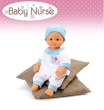 Domčeky pre bábiky sety - Set prebaľovací stôl pre bábiku Baby Nurse Srdiečko Smoby kolíska s baldachýnom a bábika v dupačkách 32 cm_13