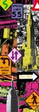 Panorama puzzle - Puzzle Panorama New York Pop Art Educa 2000 dielov_0