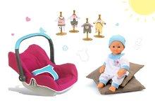 Set autosedačka pre bábiku Maxi Cosi & Quinny Smoby, bábika Baby Nurse 32 cm a 3 šatôčky
