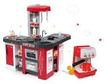 Set kuchynka pre deti Tefal Studio XXL Smoby s magickým bublaním a kávovarom Rowenta Expresso