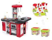 Set kuchynka pre deti Tefal Studio XXL Smoby s magickým bublaním a obedová súprava v dóze