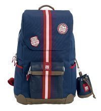 Nahrbtnik s previjalno torbo za vozičke City Red Castle moder