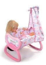 Postieľky a kolísky pre bábiky - Kolíska Baby Nurse Smoby s baldachýnom pre 52 cm bábiku od 18 mes_0