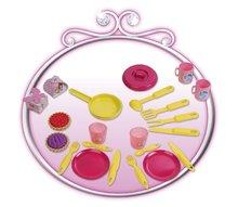 Obične kuhinje - Set kuhinja Disney Princeze sa satom i sportska kolica za lutku Pastel_2