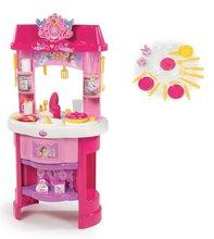 Obične kuhinje - Set kuhinja Disney Princeze sa satom i sportska kolica za lutku Pastel_8