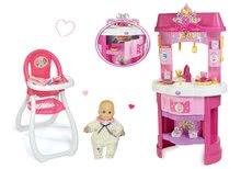 Kuhinje za djecu setovi - Set kuhinja Disney Princeze Smoby sa satom i sjedalicom za hranjenje s lutkom_20