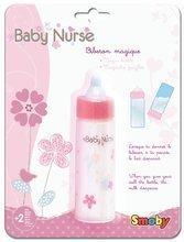 Biberon cu lapte pentru păpuşă Baby Nurse Smoby magic de la 24 luni