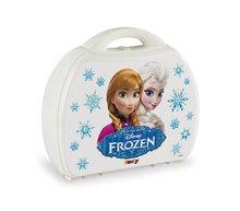 Riadíky a doplnky kuchynky - Cukráreň Frozen Smoby v kufríku s trblietkami s 19 doplnkami_1