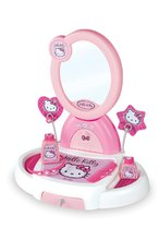 Kozmetický stolík Hello Kitty Smoby s otváracou zásuvkou a 5 doplnkami svetloružový