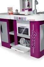 Elektronické kuchynky - Kuchynka Studio XL Tefal Smoby elektronická so zvukmi, so sódovačom, chladničkou a 32 doplnkami fialová_3
