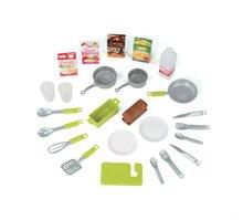 Elektronické kuchyňky - Kuchyňka Loft 4v1 Smoby elektronická se zvuky, s vysouvací pracovní plochou a 25 doplňky stříbrná_5