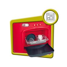 Obyčejné kuchyňky - Kuchyňka Berchet My Kitchen Smoby oboustranná s 21 doplňky červeno-bílá_3