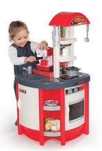 Bucătărie  Studio Tefal Smoby electronic, cu efecte sonorice, cu aparat de cafea Espresso Rowenta și cu 19 accesorii, roșu