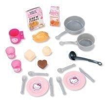 Elektronické kuchyňky - Kuchyňka Hello Kitty Cheftronic Smoby elektronická se zvuky a 20 doplňky_1
