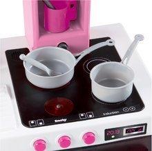 Elektronické kuchyňky - Kuchyňka Hello Kitty Cheftronic Smoby elektronická se zvuky a 20 doplňky_0