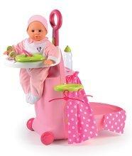 Pečovatelský kufřík Minnie Nursery Smoby pro panenku od 18 měsíců se 6 doplňky