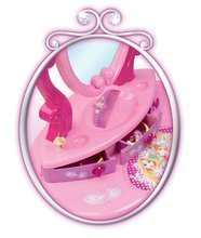 Kozmetické stolíky sety - Set kozmetický stolík Disney Princezné 2v1 Smoby so stoličkou a piknikový košík s doplnkami_2