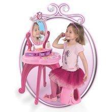 Kozmetické stolíky sety - Set kozmetický stolík Disney Princezné 2v1 Smoby so stoličkou a piknikový košík s doplnkami_3