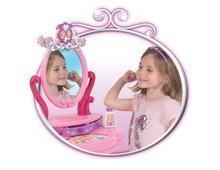 Kozmetický stolík pre deti - Kozmetický stolík Disney Princezné Smoby s otváracou zásuvkou a 5 doplnkami_0