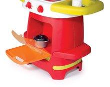 Obyčajné kuchynky - Kuchynka Cooky Smoby s kávovarom s 19 doplnkami od 18 mes_3