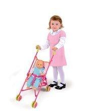 Kočíky od 18 mesiacov - Kočík pre bábiku Minnie Smoby skladacia bugina (58 cm rúčka) od 18 mes_0