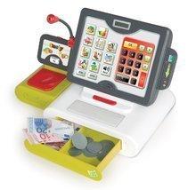 Obchody pre deti - Pokladňa Smoby elektronická s dotykovou obrazovkou s 25 doplnkami_2