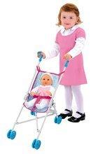 Kočíky od 18 mesiacov - Kočík pre bábiku Frozen Smoby skladacia bugina (58 cm rúčka) od 18 mes_0