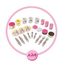 Accesorii și vase de bucătărie de jucărie - Coş de picnic Hello Kitty Smoby cu 24 de accesorii_0