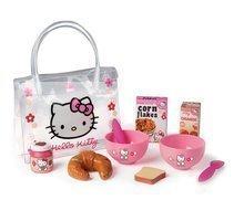 SMOBY 24353 Hello Kitty raňajkový set v taštičke 10 ks, 21*5*27 cm