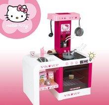 Elektronické kuchynky - Kuchynka Hello Kitty Cheftronic Smoby elektronická so zvukom, svetlom a 19 doplnkami tmavoružová_3