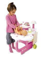 Domčeky pre bábiky - Opatrovateľské centrum Baby Nurse Smoby pre bábiku s 13 doplnkami_0