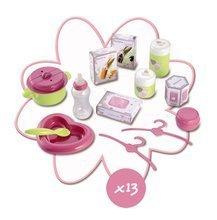 Domčeky pre bábiky - Opatrovateľské centrum Baby Nurse Smoby pre bábiku s 13 doplnkami_2