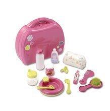 Doplňky pro panenky - Přebalovací set pro panenku Baby Nurse Smoby v kufříku růžový_0